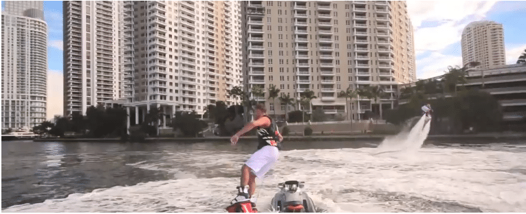 Flyboard in Miami