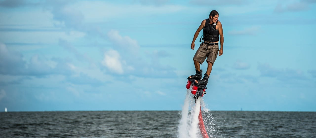 Flyboarding in Miami